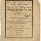 A Funeral Oration, On the Death of George Washington