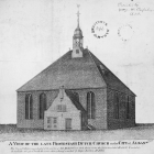 A View of the Late Protestant Dutch Church in the City of Albany