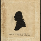 Silhouette of George Washington (1732-1799)