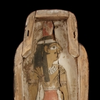 Coffin Base with Goddess of the West