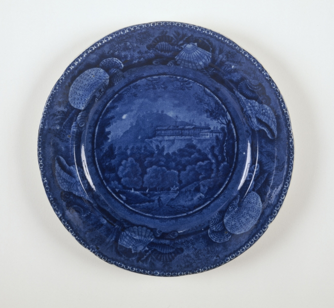 Catskill Mountain House Plate Albany Institute Of