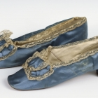 Blue Boudoir Slippers
