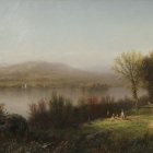 Pollepel's Island (View of the Hudson near Newburgh)