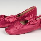 Rose Silk Boudoir Shoes