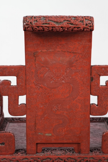 Chinese Imperial Lacquer Chair - Albany Institute of History and Art