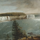 A Distant View of the Falls of Niagara