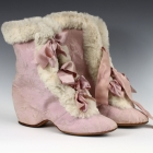 Lavender Winter Carriage Boots