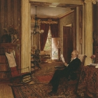 Library at Arbour Hill (Olcott interior)