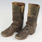 Child's Brown Leather Boots