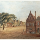 Corner of State Street and North Pearl Street, 1814