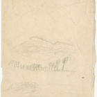 Theodore Cole's First Attempt at Sketching from Nature