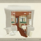 20th Century Limited Interior: End Section-Diner