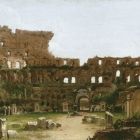 Interior of the Colosseum, Rome