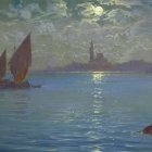 San Giorgio at Moonlight