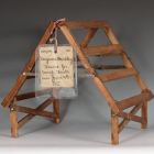 Improvement in Portable Frames for Rectangular Tents, Patent model #17504