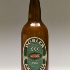 Dobler Brewing Company Brown Glass Beer Bottle