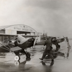 Spinning Props. Before Take-off, First Municipal Airport
