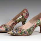 Figured Silk Shoes