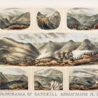 Panorama of the Catskill Mountains, N.Y.