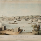 View of Troy, N.Y. From the West