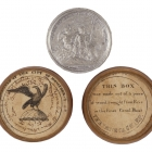 Erie Canal Commemorative Token in Wood Presentation Box