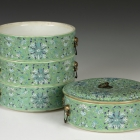 Chinese Porcelain Stacking Bowls