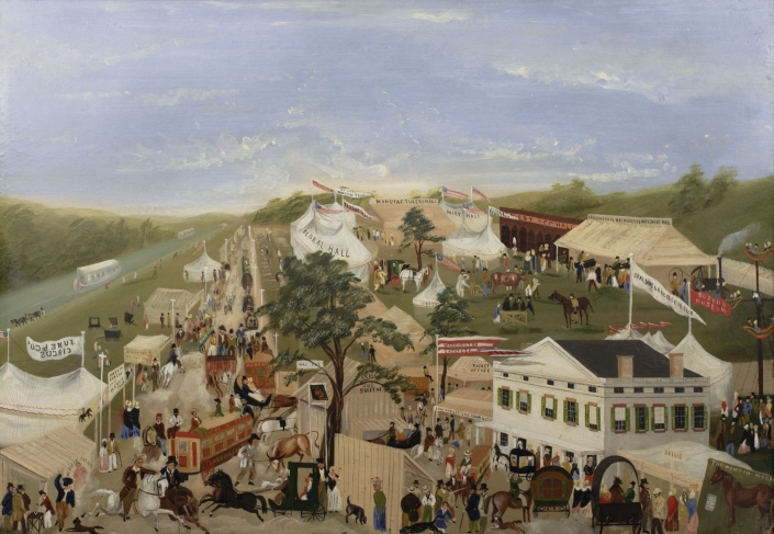 New York Agricultural Fair Of 1850 Albany Institute Of