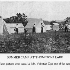 Summer Camp at Thompsons Lake