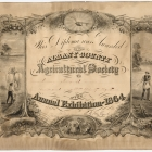 Albany County Agricultural Society Annual Exhibition of 1864