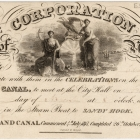 Invitation to Celebrations on the Completion of the Erie Canal