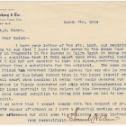 Letter from Samuel W. Brown to Miss A. M. Knapp