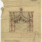 Cathedral of All Saints Architectural Drawing