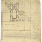 Cathedral of All Saints Architectural Drawing Detail of 257503