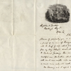 Letter from A. J. Downing to William P. Van Rensselaer