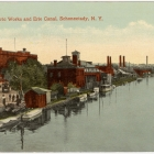 General Electric Works and Erie Canal, Schenectady, N. Y.