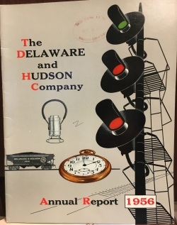 The Delaware and Hudson Company, Annual Report, 1956.JPG