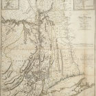 A Map of The Province of New York with Part of Pennsylvania and New England from an Actual Survey by Captain Montresor