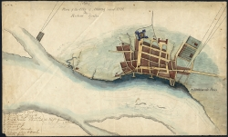 Plan of the City of Albany about 1770