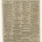 Supplement to the Albany Centinel, Jan. 17, 1800. Funeral Procession for Washington