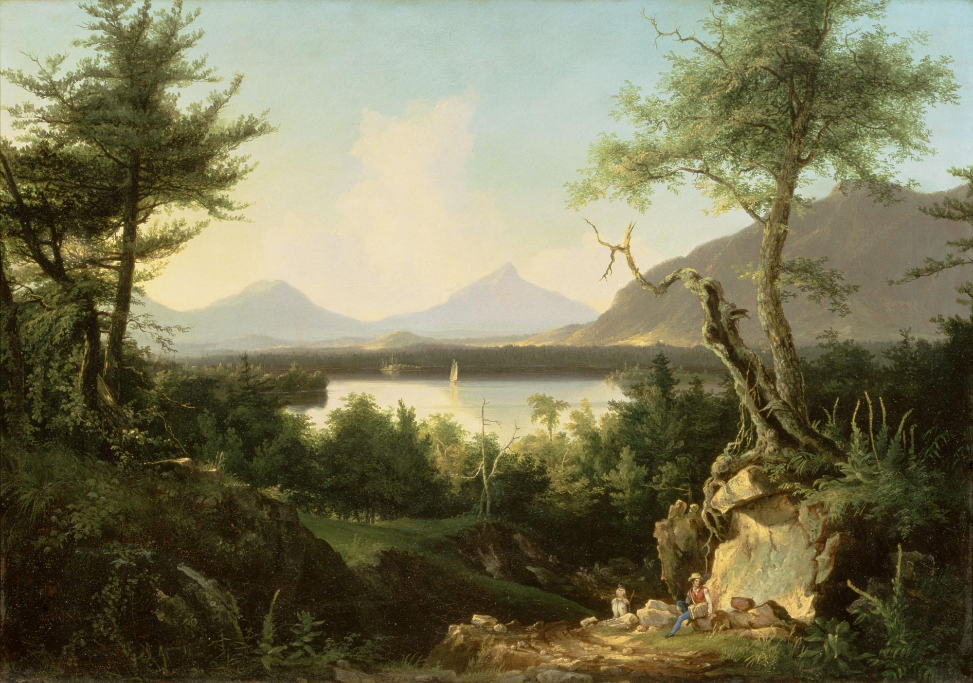 Thomas cole essay on american scenery