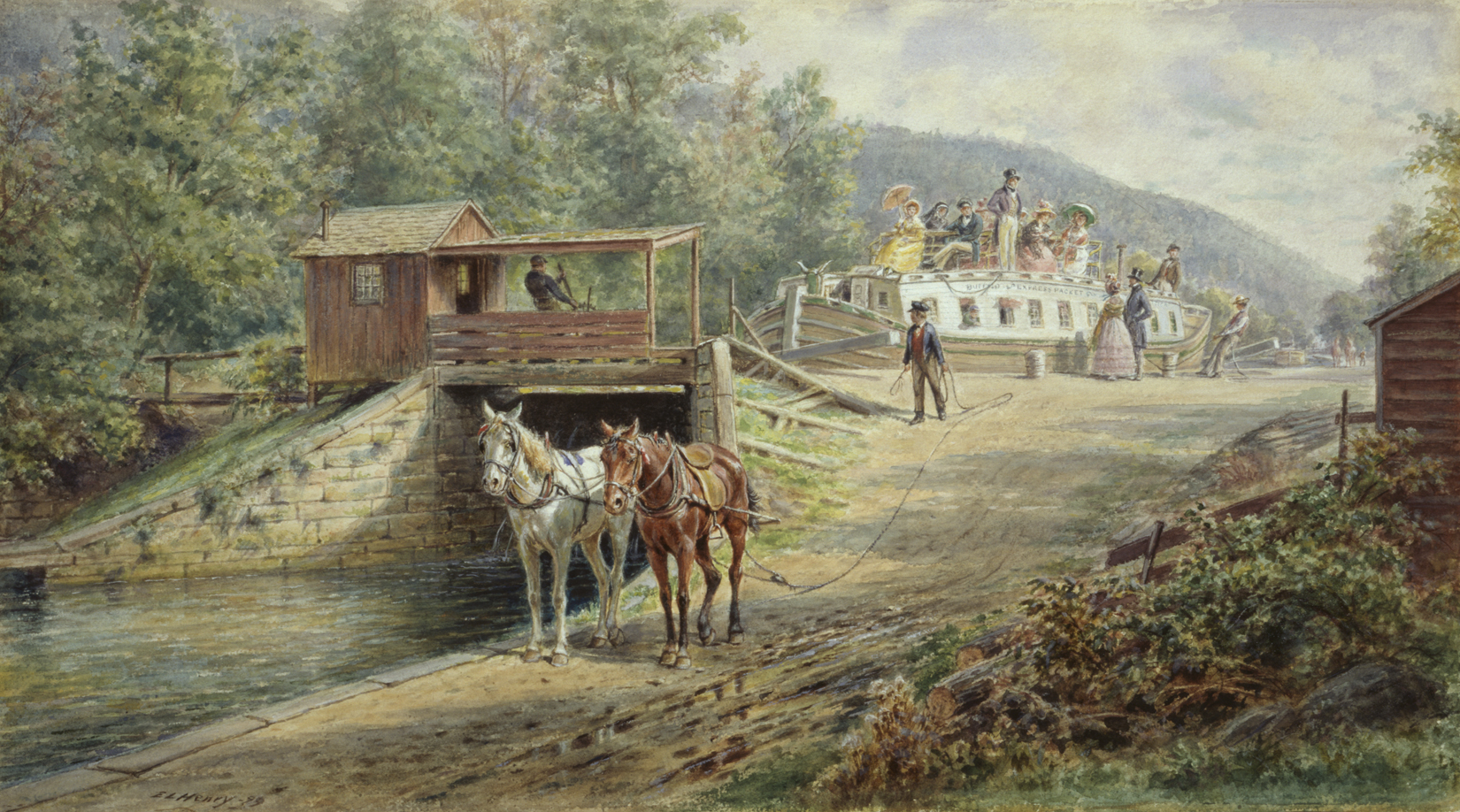 Building the Erie Canal - Albany Institute of History and Art
